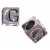 SS.925 Alpha Cubes G 5.1x5.1mm